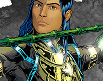 New Celflux The Graphic Novel Promotional Images