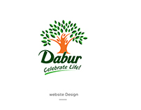 Dabur Website Redesign