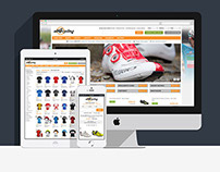 All4Cycling web&mobile e-commerce