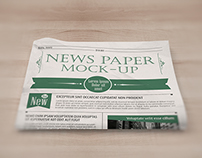 NEWSPAPER MOCK-UP FREE