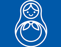 PepsiCo + Milk = Russian Doll. Icons & Interior design