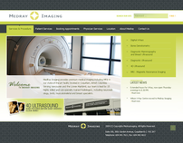 MEDRAY Imaging clinic custom Ruby on rails website.