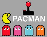 Atari Pacman Illustration