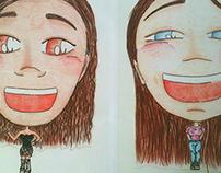 Simple caricatures