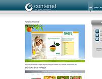 Web design - Contenet