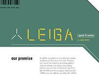 Leiga Logo and Branding