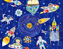 cosmic voyage pattern design