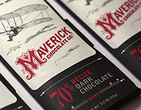 Maverick Chocolate Co. branding