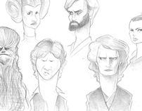 Star Wars Caricatures