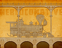 Weblocomotive Illustration