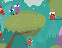 Funny Birds - Illustration
