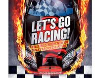 'Let's Go Racing!', Maxim Magazine