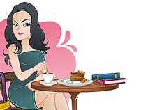 Ilustra cafeteria