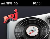 Application NRJ Samsung - Recherches