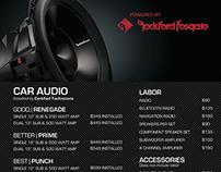 Rockford Fosgate Audio