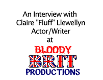 Interview w/ Claire L. CEO of  Bloody Brit Prod.
