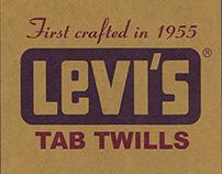 Levi's Tab Twills