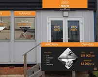 888 aero - Office Branding