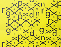 Black and yellow Graphic Identity for graphic Design