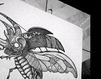Beetle dot work