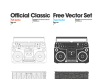 Official Classic Free Vector Set