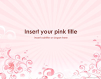 Pink PowerPoint Template (Free)