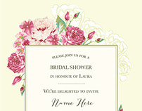Illustration Invitations