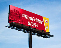 Red Friday Billboard