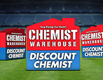 Chemist Warehouse MCG Big Screen