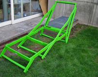 """Lawn Chair"" Wood, 2006"