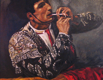 "Copy of ""El Toreador"" Oil on Canvas, 2005"