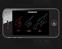 Paintball gun customiser app