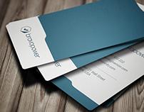 Corporate business card 017