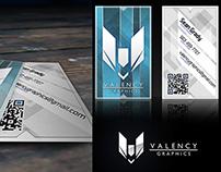 Older Valency Business Card
