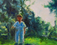 Untitled Paintings, Oil on Canvas, 2006