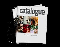 Square Brochure / Catalog Template