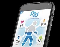 Pedometer App Concept