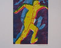 Prints, Colored Ink on Paper, 2006