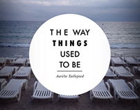 The way things used to be