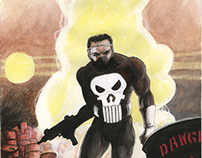 Punisher vol.2 #6, February 1988