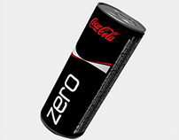 New Coca‐Cola ZERO packaging design
