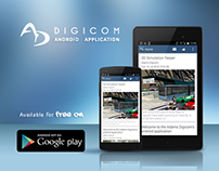 Adams Digicom android application