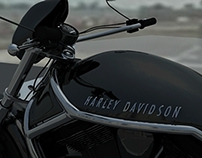 Harley Davidson - Maya poly modelling