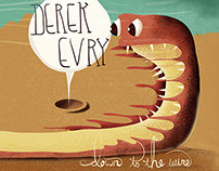 Album Art & Design - Derek Evry/Down to the Wire