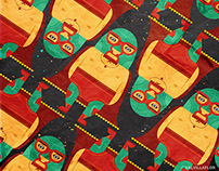 NACHO LIBRE PATTERNS