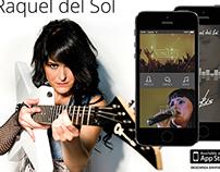 Raquel del Sol Music App