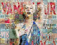 Vanity Fair Cover Mosaic
