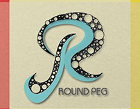 Round Peg Logo Design