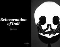 Reincarnation of Dali Photoshooting Set Design