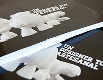 Catálogo exposición Un Designer Toy Artesanal